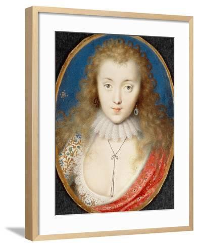 Portrait of a Girl, Probably Venetia Stanley (1600-1633), Later Lady Digby-Peter Oliver-Framed Art Print