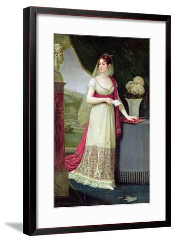 Josephine Tasher De La Pagerie (1763-1814) Empress of France, 1808-Antoine-Jean Gros-Framed Art Print