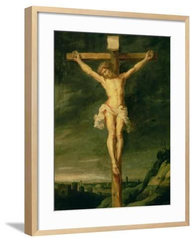 The Crucifixion-Peter Paul Rubens-Framed Art Print