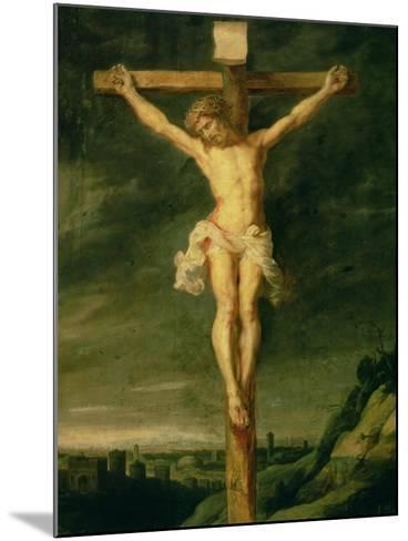The Crucifixion-Peter Paul Rubens-Mounted Giclee Print