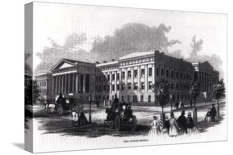 "The Patent Office, from ""Harper's New Monthly Magazine,"" 1859--Stretched Canvas Print"