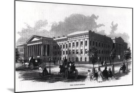 "The Patent Office, from ""Harper's New Monthly Magazine,"" 1859--Mounted Giclee Print"