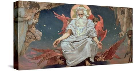 Savaoph, God the Father, 1885-96-Victor Mikhailovich Vasnetsov-Stretched Canvas Print