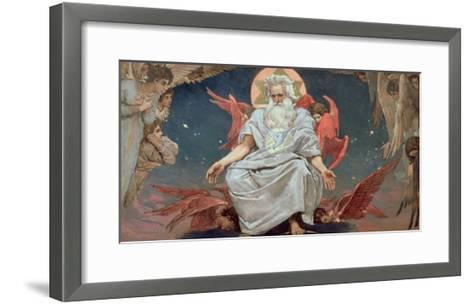 Savaoph, God the Father, 1885-96-Victor Mikhailovich Vasnetsov-Framed Art Print