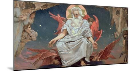 Savaoph, God the Father, 1885-96-Victor Mikhailovich Vasnetsov-Mounted Giclee Print