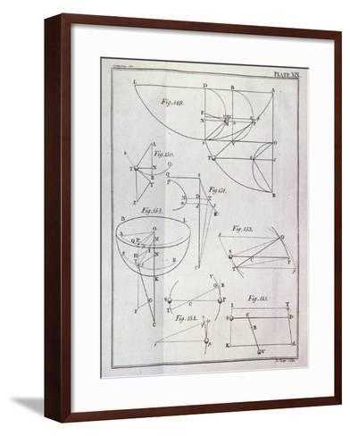 Plate XIX, Illustrating Proposition Lxv--Framed Art Print
