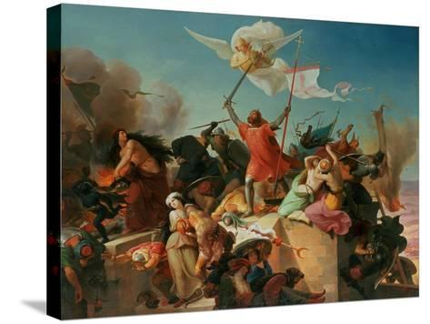 Godfrey De Bouillon, French Crusader-Karl Mucke-Stretched Canvas Print