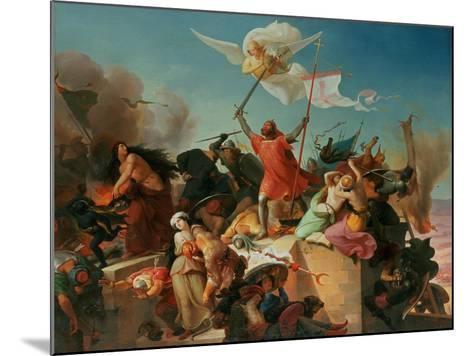 Godfrey De Bouillon, French Crusader-Karl Mucke-Mounted Giclee Print
