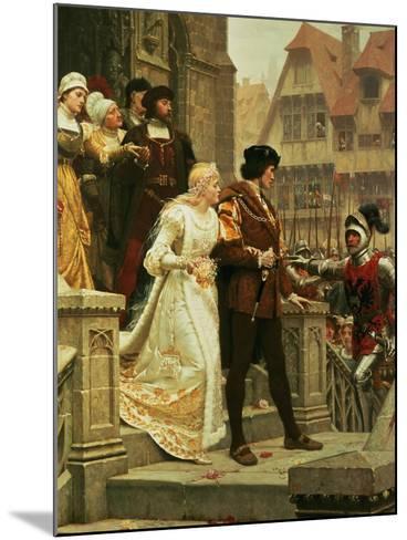 Call to Arms, 1888-Edmund Blair Leighton-Mounted Giclee Print