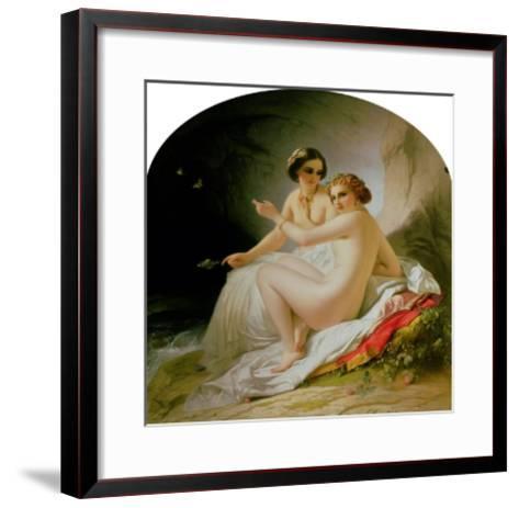 The Bathers, 1830-Louis Hersent-Framed Art Print