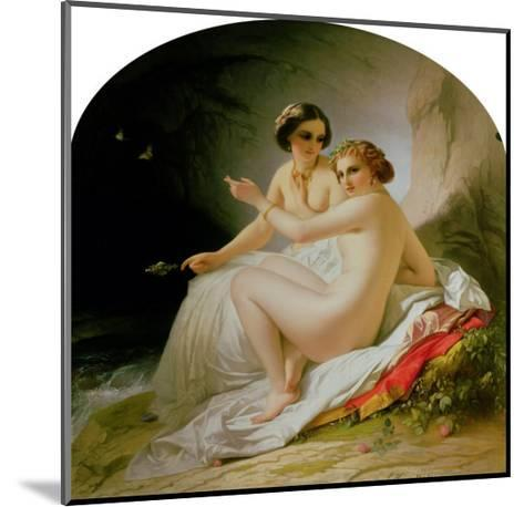 The Bathers, 1830-Louis Hersent-Mounted Giclee Print