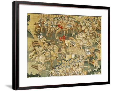 The Battle of Jarnac and the Assassination of Louis I of Bourbon (1530-69) 1570-80--Framed Art Print