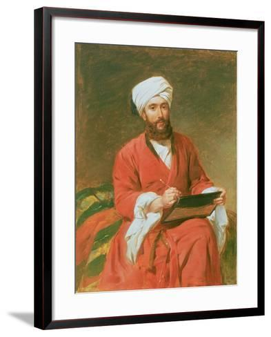 A Turkish Pasha-Frederick Goodall-Framed Art Print