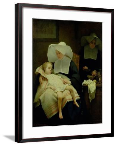 The Sisters of Mercy, 1859-Henriette Browne-Framed Art Print