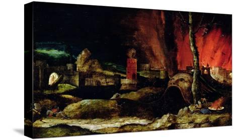 Christ in Limbo-Hieronymus Bosch-Stretched Canvas Print
