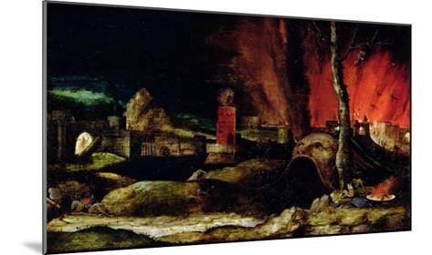 Christ in Limbo-Hieronymus Bosch-Mounted Giclee Print