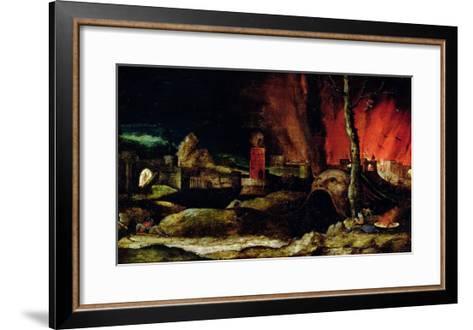 Christ in Limbo-Hieronymus Bosch-Framed Art Print