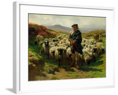 The Highland Shepherd, 1859-Rosa Bonheur-Framed Art Print