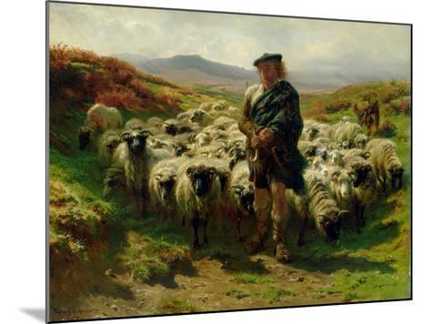 The Highland Shepherd, 1859-Rosa Bonheur-Mounted Giclee Print