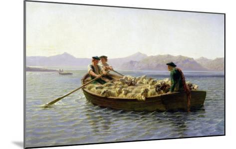 Rowing-Boat, 1863-Rosa Bonheur-Mounted Giclee Print