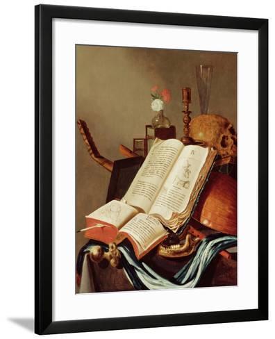 Vanitas Still Life-Edwaert Collier-Framed Art Print
