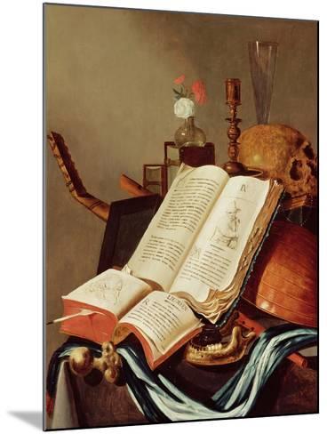 Vanitas Still Life-Edwaert Collier-Mounted Giclee Print