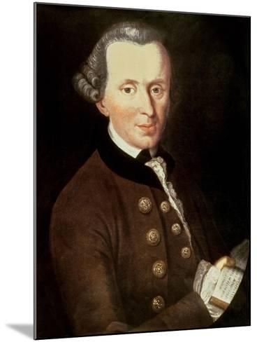 Portrait of Emmanuel Kant (1724-1804)--Mounted Giclee Print