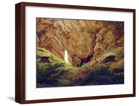 Graves of Ancient Heroes, 1812-Caspar David Friedrich-Framed Art Print