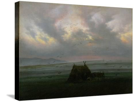 Waft of Mist, circa 1818-20-Caspar David Friedrich-Stretched Canvas Print