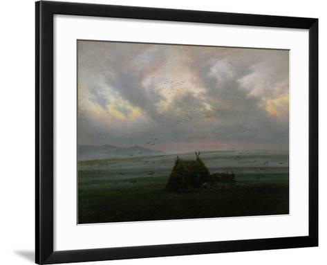 Waft of Mist, circa 1818-20-Caspar David Friedrich-Framed Art Print