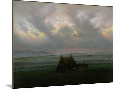 Waft of Mist, circa 1818-20-Caspar David Friedrich-Mounted Giclee Print