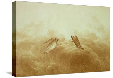 Angel in Prayer, circa 1826-34-Caspar David Friedrich-Stretched Canvas Print