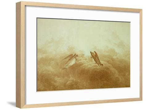 Angel in Prayer, circa 1826-34-Caspar David Friedrich-Framed Art Print