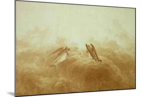 Angel in Prayer, circa 1826-34-Caspar David Friedrich-Mounted Giclee Print