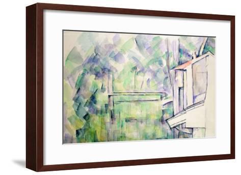 Mill on the River, 1900-Paul C?zanne-Framed Art Print
