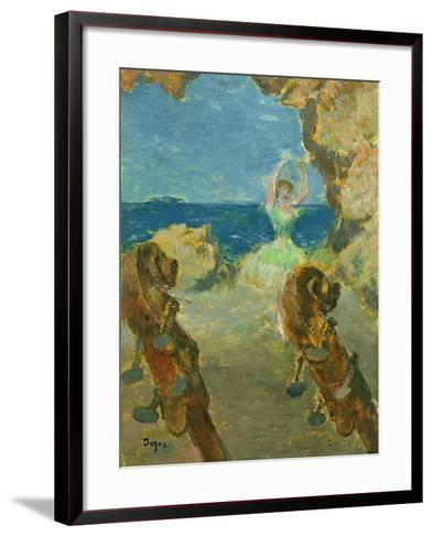 The Ballet Dancer, 1891-Edgar Degas-Framed Art Print