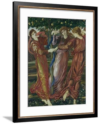 Garden of the Hesperides, 1869-73-Edward Burne-Jones-Framed Art Print