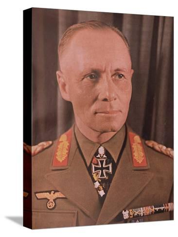 """Marshal Erwin Rommel (1894-1944) from """"Signal"""" Magazine, No. 17, First Edition of September 1942--Stretched Canvas Print"""