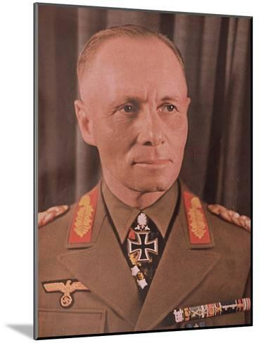 """Marshal Erwin Rommel (1894-1944) from """"Signal"""" Magazine, No. 17, First Edition of September 1942--Mounted Giclee Print"""