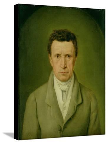 Portrait of Johann Friedrich Nikolaus Oldach (1773-1849) 1824-Julius Oldach-Stretched Canvas Print