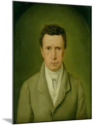 Portrait of Johann Friedrich Nikolaus Oldach (1773-1849) 1824-Julius Oldach-Mounted Giclee Print