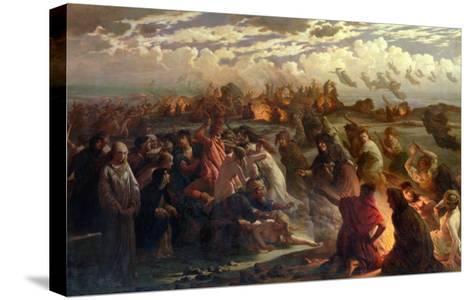 Walpurghis Night, 1862-Gustav Adolph Spangenberg-Stretched Canvas Print