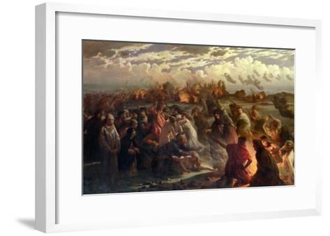 Walpurghis Night, 1862-Gustav Adolph Spangenberg-Framed Art Print