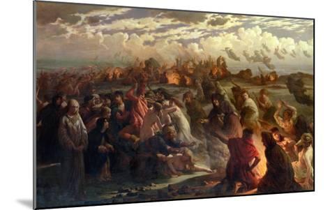 Walpurghis Night, 1862-Gustav Adolph Spangenberg-Mounted Giclee Print