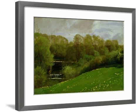 Meadow and Woodland, 1895-Valentin Ruths-Framed Art Print