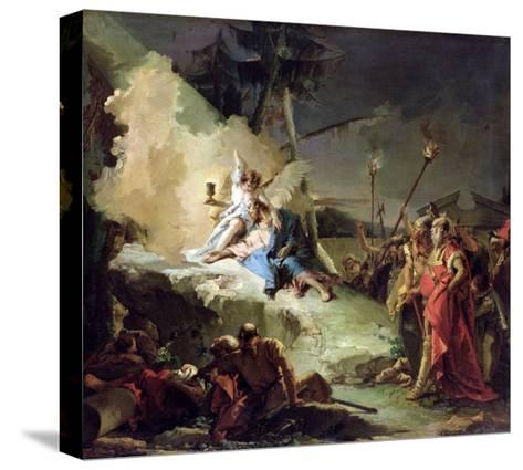 Christ in the Garden of Gethsemane-Giovanni Battista Tiepolo-Stretched Canvas Print