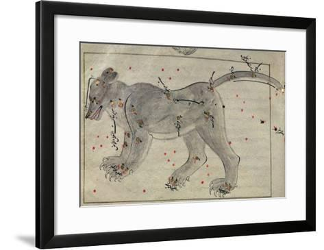 The Great Bear, from the Book of the Stars after El Hussein--Framed Art Print