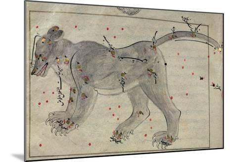The Great Bear, from the Book of the Stars after El Hussein--Mounted Giclee Print