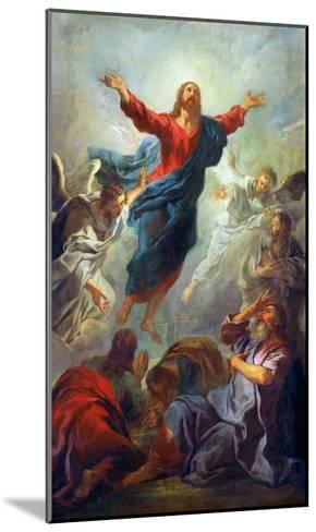 The Ascension, 1721-Jean Francois de Troy-Mounted Giclee Print