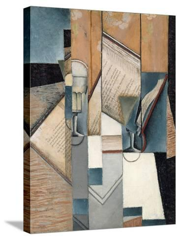 The Book, 1913-Juan Gris-Stretched Canvas Print